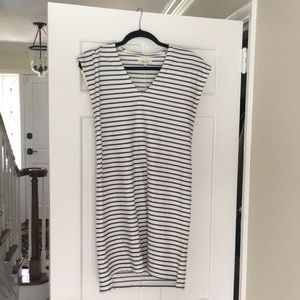 Madewell striped dress XXS